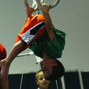 The Boys Program teaches all 6 events: floor, pommel horse, rings, vault, parallel bars and high bar. Each class also emphasizes flexibility, strength and trampoline skills. On each event, the children learn basic to advanced skills. The coaches progress each child at their own speed and all participants will be challenged while instructors help students meet their individual goals.