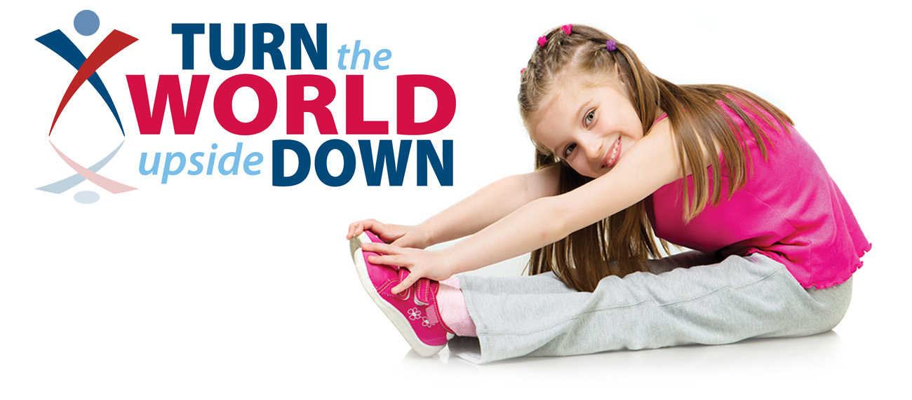 USAG turn the world with Stretching Girl